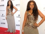 Jennifer Hudson In Roberto Cavalli - amfAR New York Gala To Kick Off Fall 2012 Fashion Week