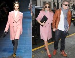 Sidewalk Style: Jennifer Lopez In Dolce & Gabbana and Paul & Joe's Sister