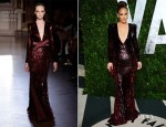 Jennifer Lopez In Zuhair Murad Couture – 2012 Vanity Fair Oscar Party