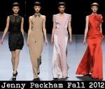 Jenny Packham Fall 2012