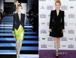 Jessica Chastain In Armani Privé - 2012 Independent Spirit Awards