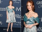 Jessica Chastain In Vivienne Westwood - The Hollywood Reporter's Nominees Night 2012