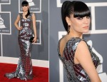 Jessie J In Julien Macdonald - 2012 Grammy Awards