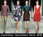 Jonathan Saunders Fall 2012