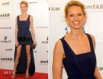 Karolina Kurkova In Vionnet - amfAR New York Gala To Kick Off Fall 2012 Fashion Week