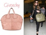 Kate Beckinsale's Givenchy Nightingale Smooth Top Handle Bag