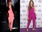 Kate Beckinsale In Diane Von Furstenberg - 2012 Independent Spirit Awards