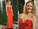 Kate Hudson In Vintage Versace - 2012 Vanity Fair Oscar Party