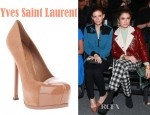 Kate Mara's Yves Saint Laurent Tribtoo Pumps