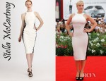 Kate Winslet's Stella McCartney Bi-Colour Dress