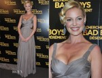 Katherine Heigl In Maria Lucia Hohan - 'One For The Money' Paris Premiere