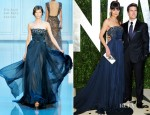 Katie Holmes In Elie Saab Couture - 2012 Vanity Fair Oscar Party