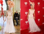 Katy Perry In Alexis Mabille Couture - 2012 MusiCares Person of the Year Tribute To Paul McCartney