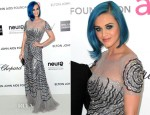 Katy Perry In Blumarine - Elton John's AIDS Foundation Academy Awards Viewing Party