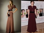 Keira Knightley In Burberry Prorsum - 'A Dangerous Method' London Premiere