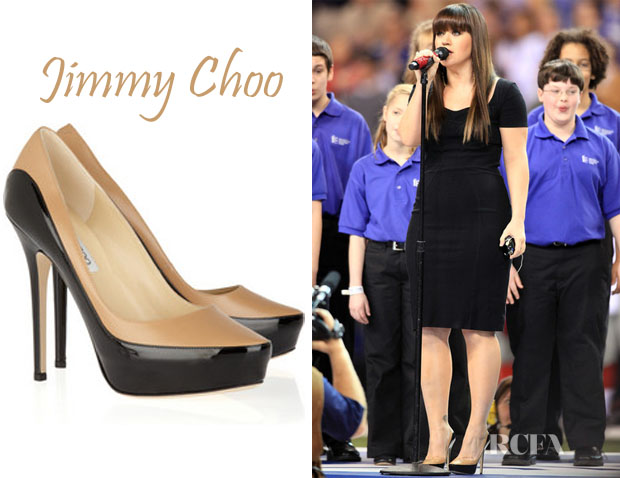 Kelly Clarkson Jimmy Choo