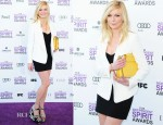 Kirsten Dunst In Dolce & Gabbana - 2012 Independent Spirit Awards
