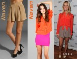 Kristin Cavallari's Naven Oversized Crop Blouse And Naven Monroe Shorts