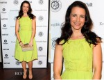 Kristin Davis In H&M - Vanity Fair And Ermenegildo Zegna Dinner