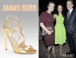 Kristin Davis' Jimmy Choo Lance Mirrored Sandals