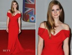 Lana Del Rey In Vivienne Westwood - 2012 Brit Awards