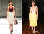 Leighton Meester In Prada - 'The Woman Dress' by Giada Colagrande Screening