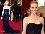 Leslie Mann In Roberto Cavalli - 2012 Oscars