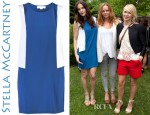 Liv Tyler's Stella McCartney Sleeveless Colour Block Dress
