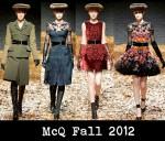 McQ Fall 2012