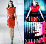 Madonna In Antonio Berardi - 'MDNA' Album Cover