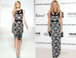 Malin Akerman In Sportmax - Elton John's AIDS Foundation Academy Awards Viewing Party