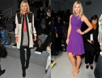 Maria Sharapova @ Fall 2012 New York Fashion Week