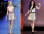 Megan Fox In Dolce & Gabbana -The Tonight Show with Jay Leno