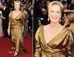 Meryl Streep In Lanvin - 2012 Oscars