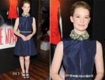 Mia Wasikowska In Miu Miu – 'The Woman Dress'  by Giada Colagrande Screening