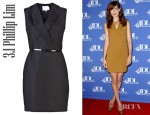 Michelle Monaghan's 3.1 Phillip Lim Belted Stretch Cotton Dress