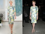 Michelle Williams In Erdem & Balenciaga - Late Show With David Letterman