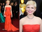 Michelle Williams In Louis Vuitton - 2012 Oscars