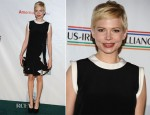 Michelle Williams In Givenchy - 7th Annual 'Oscar Wilde: Honoring The Irish In Film' Pre-Academy Awards Event