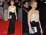 Michelle Williams In H&M Bespoke - 2012 BAFTA Awards