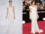 Milla Jovovich In Elie Saab Couture - 2012 Oscars