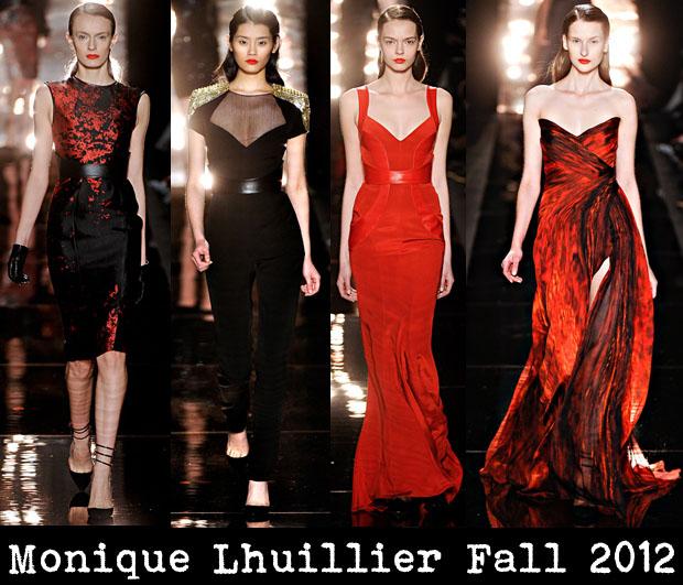Monique Lhuillier Fall 2012 - Red Carpet Fashion Awards