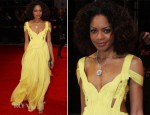 Naomie Harris In Emilio Pucci - 2012 BAFTA Awards