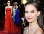 Natalie Portman In Vintage Christian Dior - 2012 Oscars