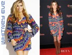 Nikki Reed's Whitney Eve Zuri Wrap Dress
