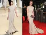 Nina Hoss In Elie Saab - 'Les Adieux de la Reine' Berlinale Film Festival Premiere