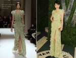 Olga Kurylenko In Georges Hobeika Couture - 2012 Vanity Fair Oscar Party