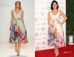 Olivia Munn In Lela Rose - 'Vanities' 20th Anniversary Party