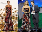 Olivia Wilde In Gucci - 2012 Independent Spirit Awards
