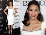 Paula Patton In Marchesa - 5th Annual ESSENCE Black Women in Hollywood Luncheon